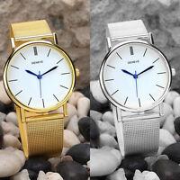 Fashion Womens Casual Watch Stainless Steel Analog Quartz Wrist Watch NEW