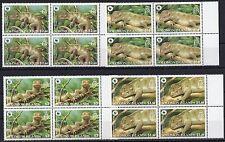 4x Solomon Island - WWF.Animals.Fauna  - set of 4  MNH** Z16