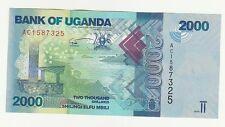 Uganda 2000 2.000 scellini  2009   FDS UNC  Pick 50  rif 53