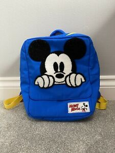 MICKEY MOUSE RUCKSACK - USED BUT IN PRISTINE CONDITION