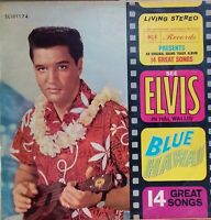 Elvis Presley - Blue Hawaii. 1961 Aussie Stereo First Pressing  LP. EX / EX