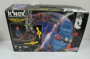 K'nex Thunderbolt Strike Roller Coaster Building Set # 51587, Age 9+