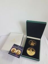 Queen Elizabeth II Diamond Jubilee Five Crown Coin Set - Proof with Diamond