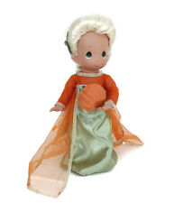 "Precious Moments Disney Parks Elsa Frozen Boo Green Halloween 12"" Doll"