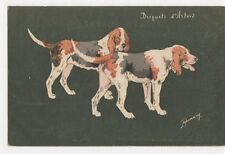 Espinassy, Hunting Dogs, Briquets d'Artois Postcard, B268