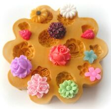Sugarcraft Mold Polymer Clay Molds Cake Decorating Tools/ tiny flowers mold