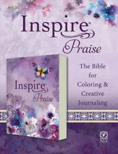 Inspire Praise : New Living Translation: The Bible for Coloring & Creative Jo.
