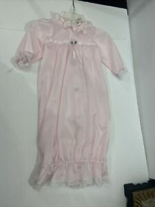 laura dare nightgown sz newborn