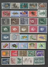 Yugoslavia 1960 - 1962 MH collection , 77 stamps