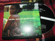 Fried ‎– When You Get Out Of Jail London Records PRO4920 Promo UK CD Single