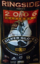 2006 RINGSIDE BOXING SILVERGLOVES NATIONALS BANNER