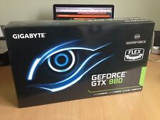 NVIDIA GEFORCE GTX 980 GRAPHICS CARD - GIGABYTE - USED BUT MINT CONDITION IN BOX