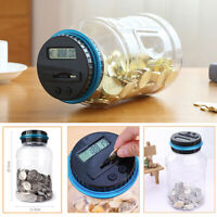Piggy bank coin counter digital money jar counting LCD electronic display_ti