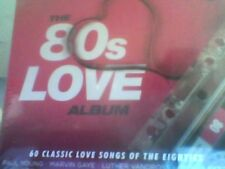 Various Artists - The 80s Love Album - 3xCD Digipak -  New Sealed - Free Post