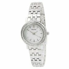 NEW Bulova Dress Ladies Crystal Quartz Watch - 98X111