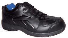 New Reebok Black RB1100 Jorie Leather Slip Resistant Work Shoe Sneakers Mns Wms