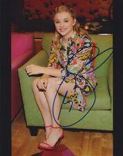 Chloe Grace Moretz signed 8x10 photo