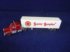Vintage Santa Surplus Twentieth 20th Anniversary Semi Trailer Truck Cab Toy NICE