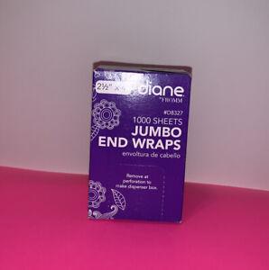 💜Diane Jumbo End Wraps 1000sheets 💜