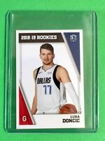 2018-19 Panini NBA Basketball LUKA DONCIC ROOKIE Sticker RC Euro #428 from pack