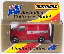 Matchbox MB60 Ford TRANSIT Van Australia Post 1993 Tyco