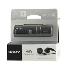 Sony NWZ-B183F Black Walkman with Built-in USB FM Tuner Flash MP3 Player sealed
