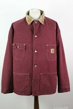 "CARHARTT Burgundy Vintage Jacket Chest Size 60"""