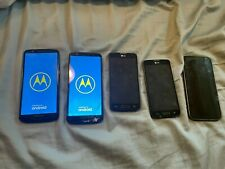 Cell phone Lot- 5x phones- T-mobile- LG, Motorola