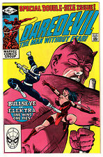 """DAREDEVIL #181 9.6 OFF-WHITE TO WHITE PAGES BRONZE AGE """"DEATH"""" OF ELEKTRA B"""