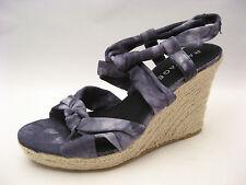 Rampage Womens Black Tie Dye Espadrille Wedge Sandals 10 NEW Cute Versatile $50