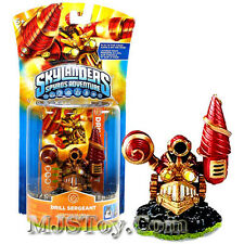 NIB HOT Skylanders Spyro's Adventure Action Figure DRILL SERGEANT Skylander RARE