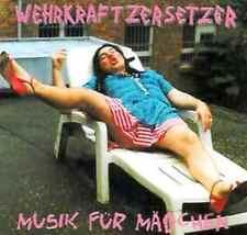 WKZ DIE WEHRKRAFTZERSETZER Musik für Mädchen CD (2002 Noisegate) Neu!