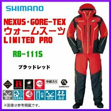 SHIMANO NEXUS GORE-TEX Fishing Winter Suit Limited Pro RB-111S Red EMS Japan