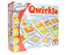 Schmidt Qwirkle The Simpsons Party Game Dissection Puzzle qwirkel Games 49285