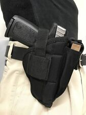 "ProGun Belt Clip Side Gun Holster fits S&W 22A (.22 L.R.) with 5.5"" Bull Barrel"