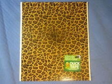 Leopard Duck Tape Sheet 8.25 IN. X 10 IN.  Made in USA