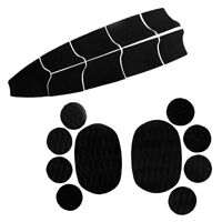 9x EVA Full Deck Traction Pad + 10 Dog Grip Mat or SUP Paddleboard Surfboard