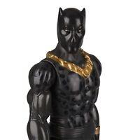 "Black Panther Marvel Avengers Erik Killmonger Titan Hero Series 12"" Figure"