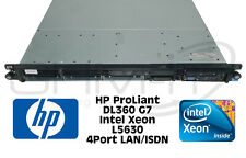 Server HP dl360 g7 1x Intel Xeon l5630 CPU ProLiant ISDN LAN 460w