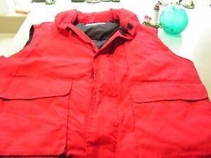 Vest Men's XXL Red Cabela's