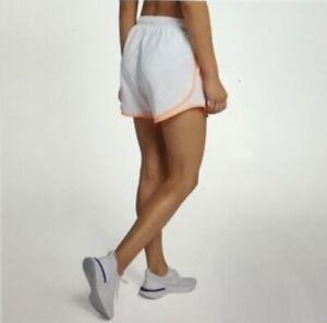Nike Women's Dri Fit Tempo Running Shorts Off White Size L
