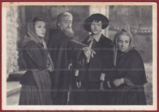 I PROMESSI SPOSI 08 FILM 1941 CINEMA MOVIE - LUX - CAMERINI - MANZONI Cartolina