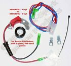 Electronic Ignition Conversion Kit 6-cyl Bosch 1-pc, left-pivot points- 3BOS6U2L