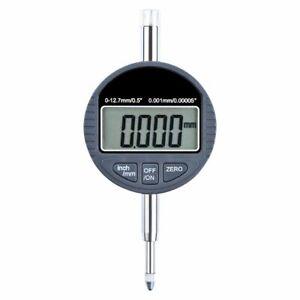Digital Electronic Micrometer Surface Measure Metric Gauge Lcd Display Indicator