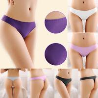 Women's Sexy Lingerie Seamless G-string Briefs Panties Thongs Underwear Knickers