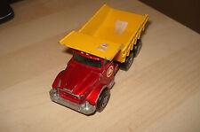 """Matchbox Kingsize No: K-19 """"Scammell Tipper Truck"""" - Red/Yellow"""