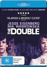 *Brand New & Sealed* The Double (Blu-ray Movie, 2014) Jesse Eisenberg Aus