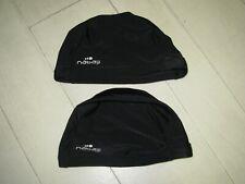 NABAIJI Lot de 2 bonnets de bain / piscine Taille 4/6ans Noirs