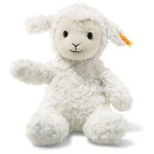 Steiff 073410 Soft Cuddly Friends Fuzzy the White Lamb