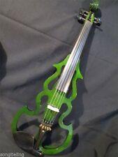 "SONG brand streamline 5 strings 16 1/2"" electric viola,solid wood #9836"